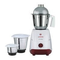 Singer Crusty 550-Watt 3 Jar Mixer Grinder,  white