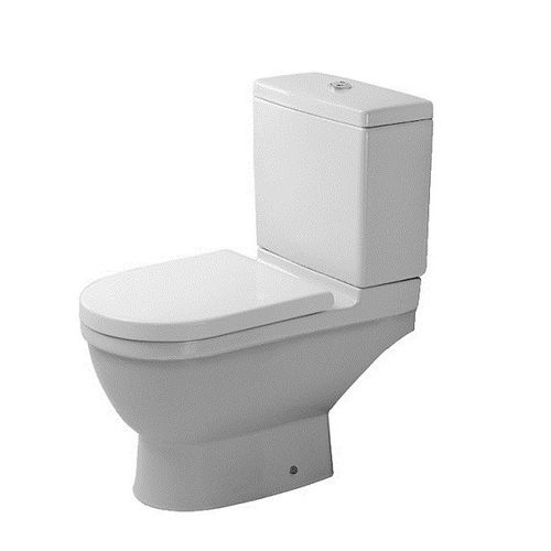 Duravit L655mm X W360mm X H370mm Starck 3 Toilet Close-Coupled Washdown Model Without Cistern# 012609