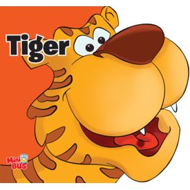 Cut-Out board book-Tiger
