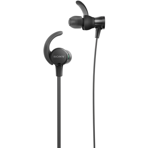 Sony EXTRA BASS Sports In-Ear Headphones (Black)