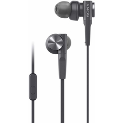 Sony MDR-XB55AP Extra Bass in-Ear Headphone, Black