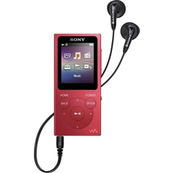 Sony Walkman NW-E394 8GB MP3 Player, Red