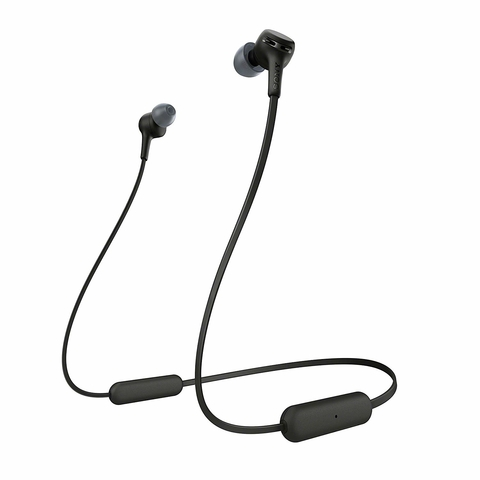 Sony WI-XB400 EXTRA BASS Wireless In-ear Headphones with Mic for phone call,  black