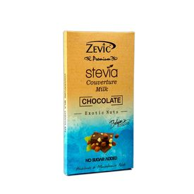Couverture Milk Chocolate (Macadamia & Hazelnut) 90 gm