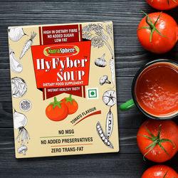 NutraSphere Instant Tomato Soup for Diabetes & Heartcare (High Fiber, Sugar Free) - 200g, 10 Sachets