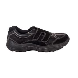 Without Lace Sport Shoes for Diabetic Patients, 9, black