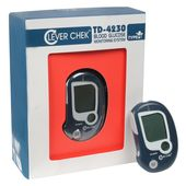 CLEVER CHEK Blood Glucose Monitor Kit from Accurex