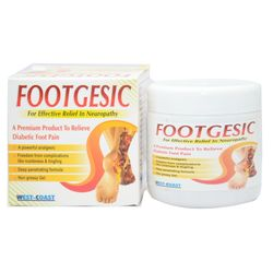 FOOTGESIC Gel 100gms for effective relief in Neuropathy