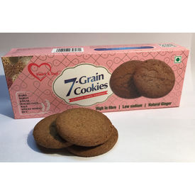 7 Grain cookies from Heart & Soul -125gms x 2