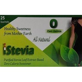 iStevia Zero Calorie Natural Sweetener - 100 Stevia Sachets (200 Servings) - Sugarfree