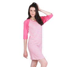 C259 - SLEEP DRESS,  pink, m