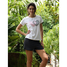 C126- T-shirt with Shorts, s,  black