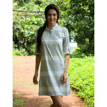 C115 - Sleep Kurta, m,  grey