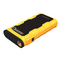 Romoss Jump Starter 12000 mAh Power Bank, Yellow