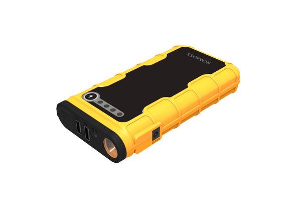 Romoss Jump Starter 12000 mAh Power Bank, Yellow