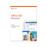 Office 365 Personal 32/64 AllLngSub PKLic 1YR Online MidE DM C2R NR