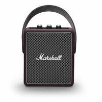 Marshall Stockwell II Bluetooth Speaker, Burgundy