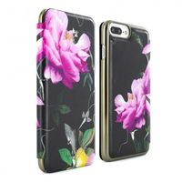 Proporta Ted Baker iPhone 7 Mirror Folio Case, Citrus Bloom Black