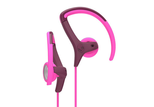 Skullcandy S4CHHZ-449 Chops Bud Headphone Plum/Pink