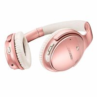 Bose QuietComfort 35 Series II Wireless Noise-Canceling Headphones, Rose Gold