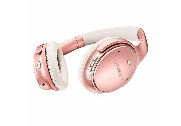 Bose QuietComfort 35 Series II Wireless Noise-Canceling Headphones, Rose Gold