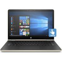 """HP Pavilion x360 14-BA104NE i5 8GB, 1T+ 128 14"""" Laptop, Gold"""