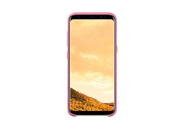 Samsung Galaxy S8 Alcantara Cover, Pink