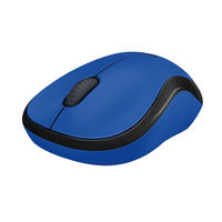 Logitech M220 Wireless Silent Mouse, Blue
