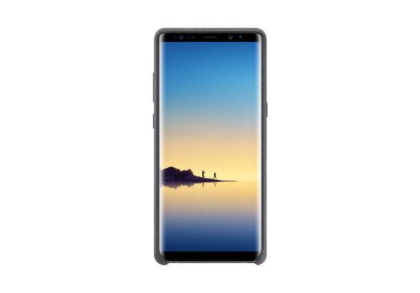 Samsung Galaxy Note8 Alcantara Cover, Dark Grey