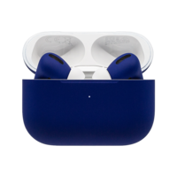 Customized Apple Airpods Pro by Switch,  Cobalt Blue, Matte
