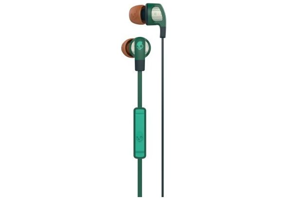 Skullcandy Smokin Buds 2 Green & Forest In the Ear Headset
