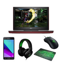 """Dell Inspiron i5 7567-INS-1056 8GB, 1TB 15.6"""" Gaming Laptop, Red"""