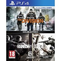 Tom Clancy's Rainbow Six Seige+ The Division Bundle (Double Pack) for PS4