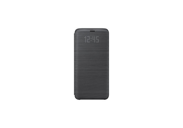 Samsung Galaxy S9+ LED Flip Wallet Cover, Gray