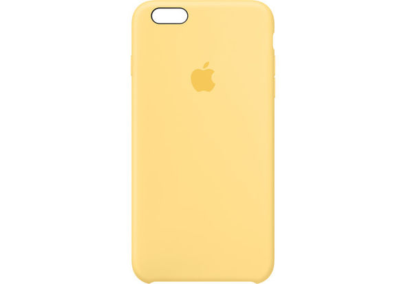 Apple iPhone 6 Plus/6s Plus Silicone Case, Yellow