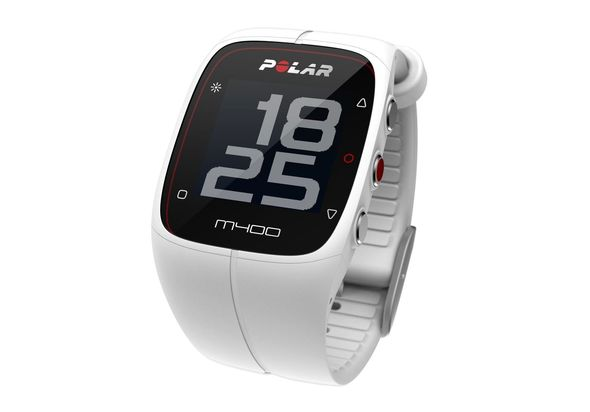 Polar M400 GPS running watch, White
