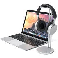 Satechi Aluminum Slim Headphone Headset Stand - Universal Fit, Silver