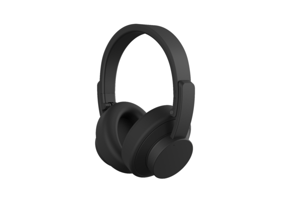 Urbanista New York Active Noise Canceling Bluetooth Headset, Dark Clown Black
