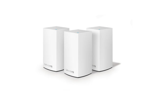 Linksys Velop Whole Home Intelligent Mesh WiFi System, Dual-Band, 3-pack