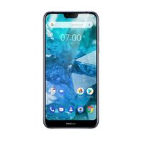 Nokia 7.1 Smartphone LTE,  Gloss Midnight Blue