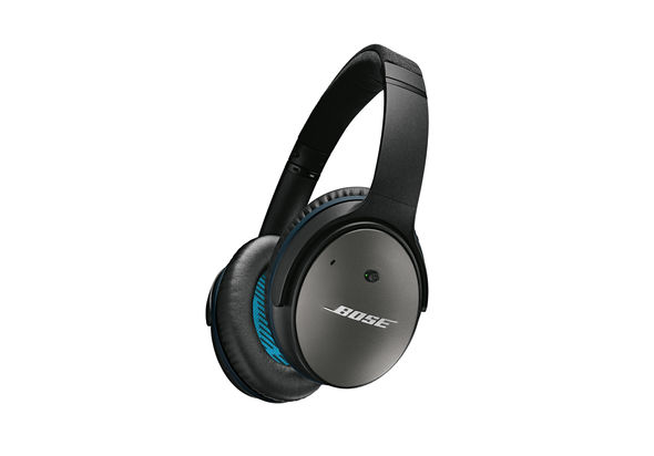 Bose QuietComfort 25 Acoustic Noise Cancelling Headphones, Black