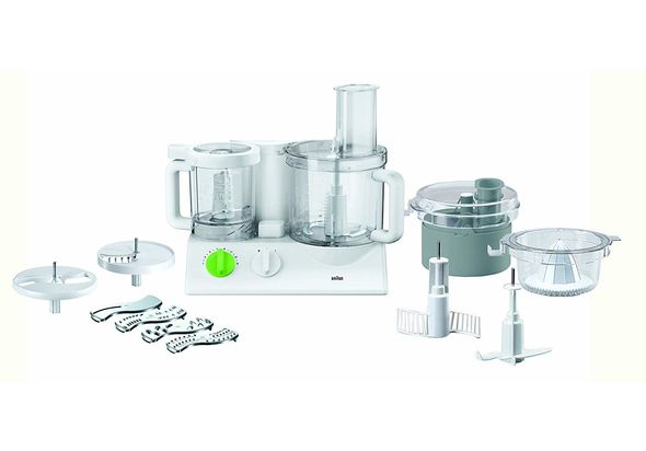 Braun FX 3030 Food Processor, White