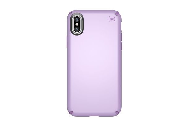 Speck Presidio Metallic Case for iPhone X, Taro Purple Metallic/Haze Purple