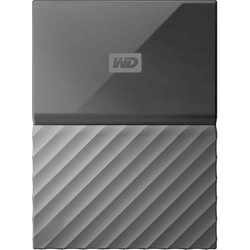 WD 1TB My Passport USB 3.0 Secure Portable Hard Drive, Black