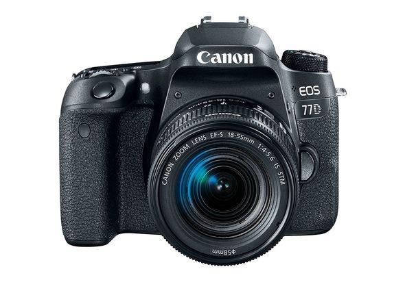 Canon EOS 77D DSLR Camera with 18-55mm Lense
