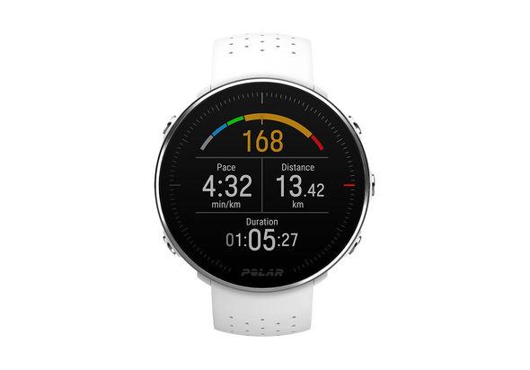 Polar Vantage GPS Running Multisport Watch,  Black