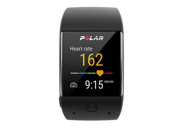 Polar M600 Sports Smart Watch, Black