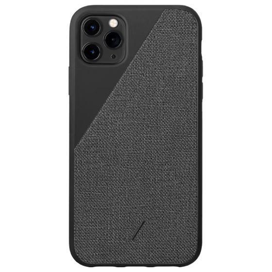 Native Union Clic Canvas Case for iPhone 11 Pro, Black