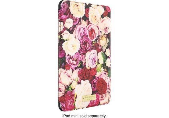 Kate Spade New York Folio Case for Apple iPad mini 4, Roses