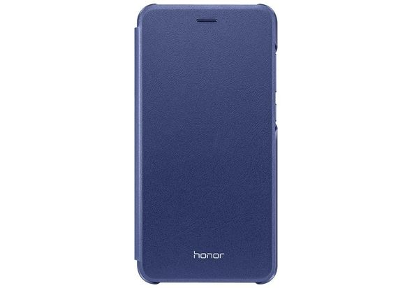 Huawei Honor 8 Lite Leather Flip Cover Case, Blue